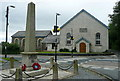 SX5079 : Mary Tavy Wesleyan chapel and war memorial by Graham Horn