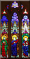 TG0206 : St Peter, Reymerston - Stained glass window by John Salmon