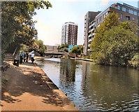 TQ3681 : Regent's Canal near Limehouse by Paul Gillett