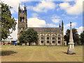 SJ9398 : St Peter's Church, Ashton-Under-Lyne by David Dixon