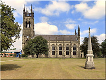 SJ9398 : St Peter's Church, Ashton-Under-Lyne by David Dixon