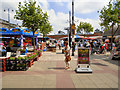 SJ9399 : Ashton Market by David Dixon