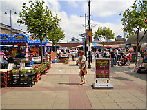 SJ9399 : Ashton Market by David Dixon