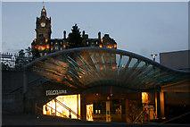 NT2573 : Entrance to Princes Mall, Edinburgh by Mike Pennington