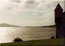G7835 : Parke's Castle and Lough Gill by D Gore