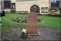 NT2573 : Greyfriars Bobby Grave, Greyfriars by N Chadwick