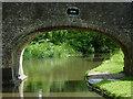 SJ9421 : Meadow Bridge south-east of Stafford by Roger  Kidd