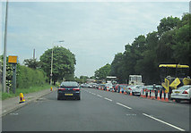 SJ9406 : A460 from Old Cannock Road Junction by John Firth