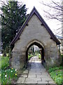 NZ1985 : Lych gate, St Mary's Church by Maigheach-gheal