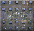 J5383 : Manhole cover, Groomsport by Rossographer