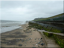 SH8778 : Sea defences at Colwyn Bay by Dave Spicer