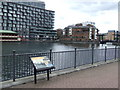 TQ3779 : Millwall Dock by Malc McDonald