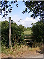 TM2066 : Footpath to Hartesmere Grange by Adrian Cable