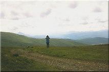 NN4198 : On the Corrieyairack by Nigel Brown