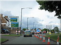 SP0185 : A4123 Wolverhampton Road South, A456 Hagley Road West Junction by Roy Hughes