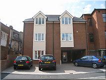 SU6351 : New flats - Flaxfield Road by Sandy B