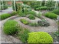 SO5152 : Herb garden at Hampton Court Gardens by Dave Spicer