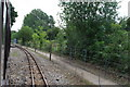 TG2620 : Bure Valley Railway approaching Coltishall Station by Glen Denny