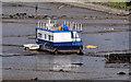 """J3775 : The """"Quiet Waters"""", Belfast by Albert Bridge"""