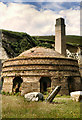 SH4094 : Beehive Kiln, Porth Wen by David Dixon