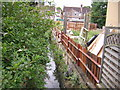 TQ3268 : Ecclesbourne Road: looking upstream at crossing of Norbury Brook by Christopher Hilton
