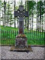 NY8362 : Grave of Cadwallader J Bates, Langley Castle by Andrew Curtis
