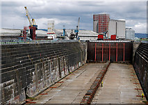 J3576 : The Thompson Graving Dock, Belfast by Rossographer