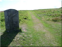 SO3283 : Interpretation information at Bury Ditches hillfort by Jeremy Bolwell