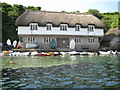 SX6643 : Boathouse at Bantham by Philip Halling