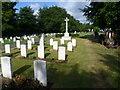 TQ4768 : RAF graves, St Mary Cray Cemetery by Marathon