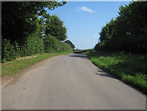 TF2198 : Road past Gunnerby House by John Firth