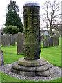 SE2280 : Churchyard cross, St Mary's Church by Maigheach-gheal