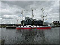 NS5565 : Glenlee at Riverside Museum by Keith Edkins