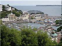 SX9163 : Torquay inner and outer Harbours by Colin Vosper