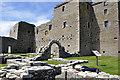 HY4248 : Noltland Castle by Stuart Wilding