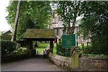 SD8237 : St Anne's Church, Fence by Bill Boaden