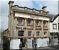 SO2800 : Grade II listed HSBC building, Pontypool by Jaggery