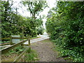 TQ0216 : Bridleway junction with Church Lane Coldwaltham by Dave Spicer