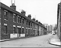 SU1584 : The demolished south side of Medgbury Road, Swindon by P L Chadwick