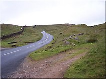 SD7738 : Clitheroe Road passes through the Nick of Pendle by Raymond Knapman