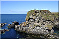 HY5042 : Castle o' Burrian by Stuart Wilding