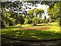 SJ9598 : Stamford Park, Floral Garden by David Dixon