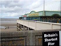 "ST3049 : ""Britain's Shortest Pier"", Burnham on Sea by Rob Newman"