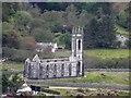 B9319 : Ruined church near Dunlewey by Kenneth  Allen