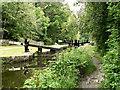 SD9700 : Huddersfield Narrow Canal, Lock 11W by David Dixon