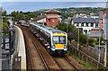 J4791 : Train leaving Whitehead by The Carlisle Kid