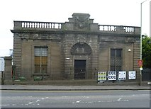 NO4030 : Former Carnegie Library in Blackscroft by kim traynor