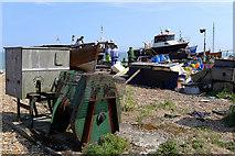 TR3752 : Boatyard on the Beach, Deal by Cameraman