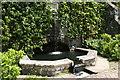 SH7972 : Fountain at Bodnant Garden by Jeff Buck