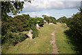 SU6362 : Roman ramparts by Richard Croft